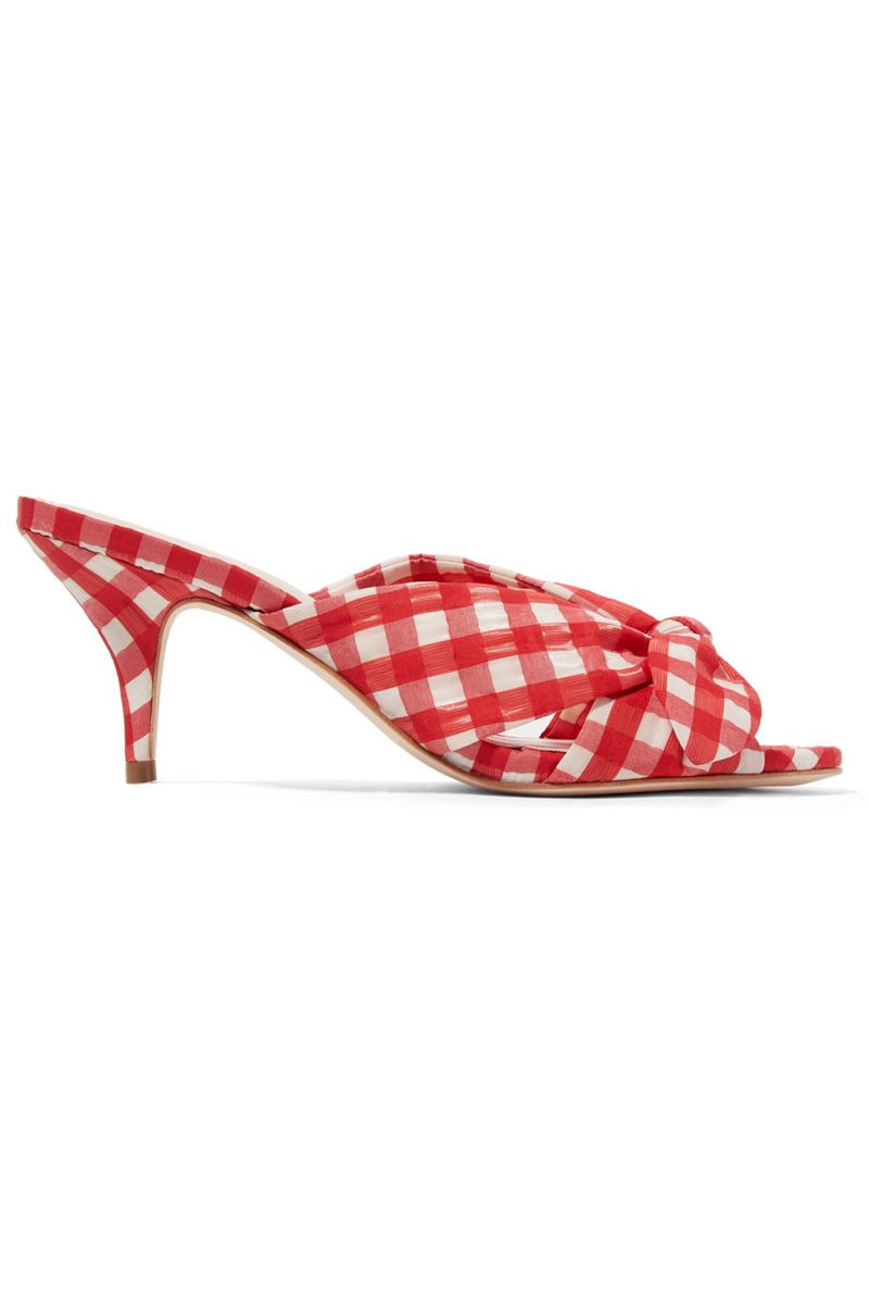 Click to Buy Loeffler-Randall-Gingham-Mules