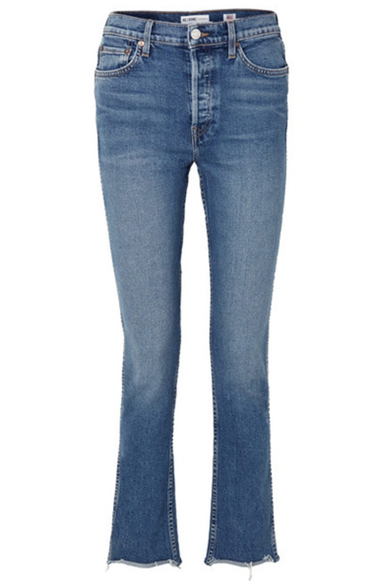 Click to Buy ReDone-Frayed-Hem-Jeans