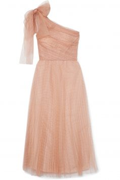 Click to Buy Red-Valentino-One-Shoulder-Dress