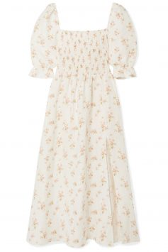 Click to Buy Reformation-Floral-Midi-Dress