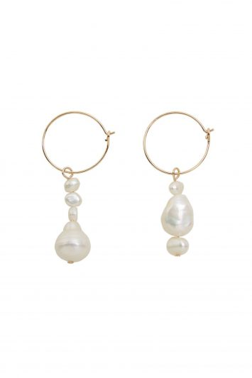 Click to Buy Mango Pearl Earrings