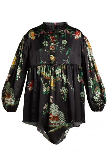By-Walid-Nicky-Floral-Silk-Blouse
