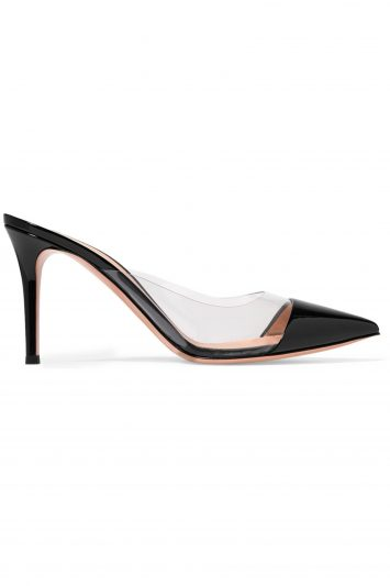 Gianvito-Rossi-Patent-and-PVC-Mules
