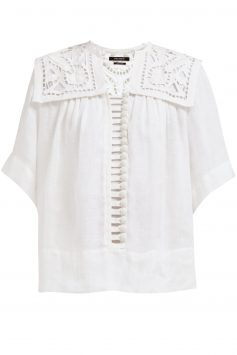 Isabel-Marant-Lace-Blouse