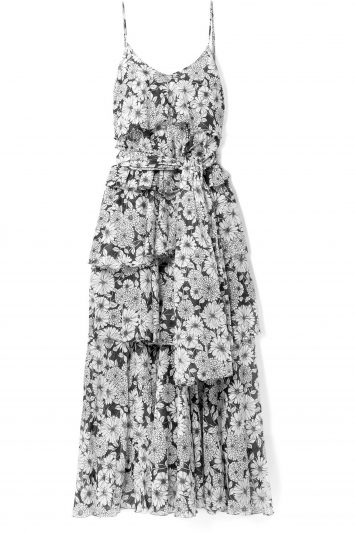 LISA-MARIE-FERNANDEZ-Imaan-tiered-floral-print-cotton-voile-maxi-dress