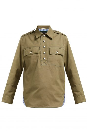 La-Fetiche-Cotton Twill-Shirt
