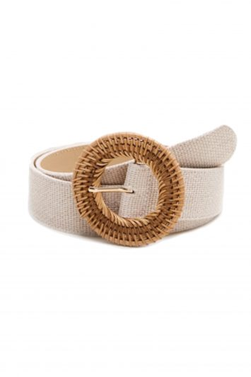 Click to Buy Mango Raffia Belt