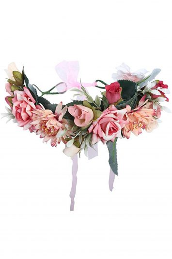 Women-Boho-Floral-Crown-Garland