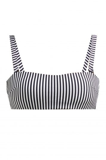 Asceno-Striped-Bikini-Top