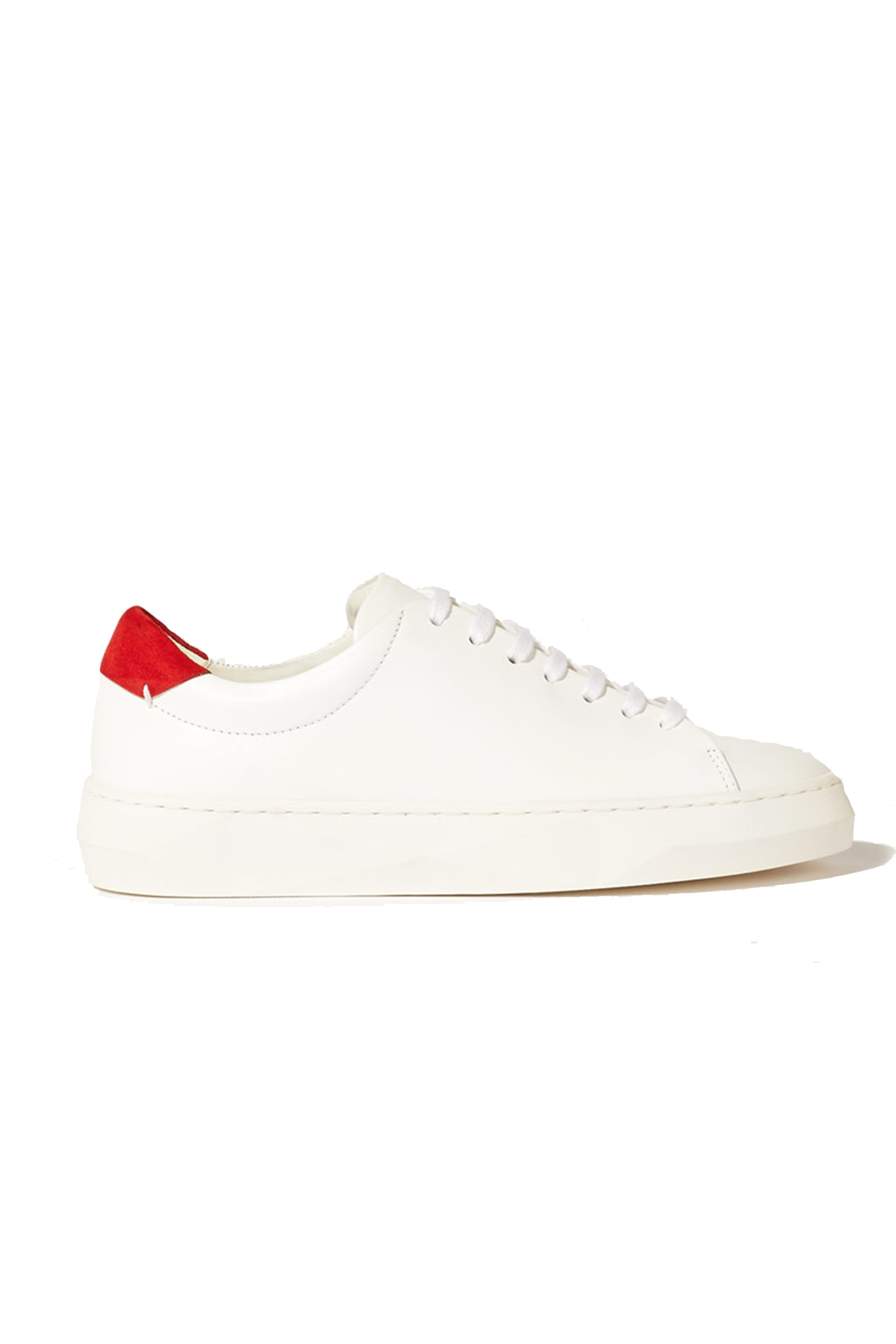 Buy Jigsaw Margot Leather Trainers in