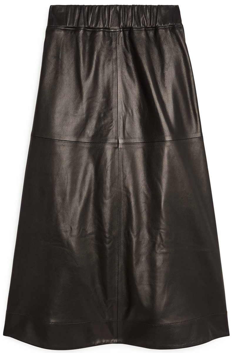 Arket-Leather-Skirt