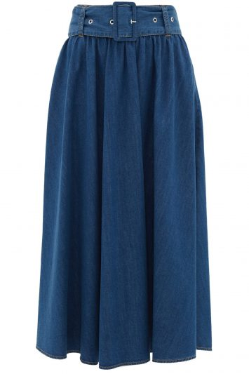 MSGM-Denim-Skirt