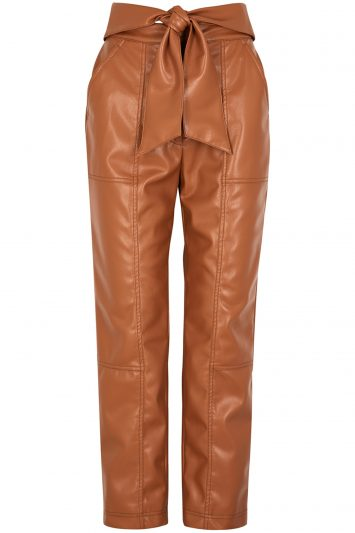 Jonathon-Simkhai's-faux-leather-trousers