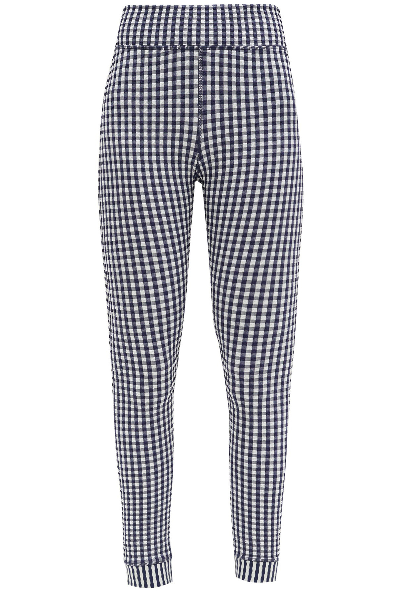 Gingham-Leggings