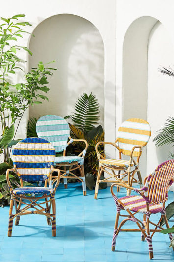 Anthropologie-Chairs