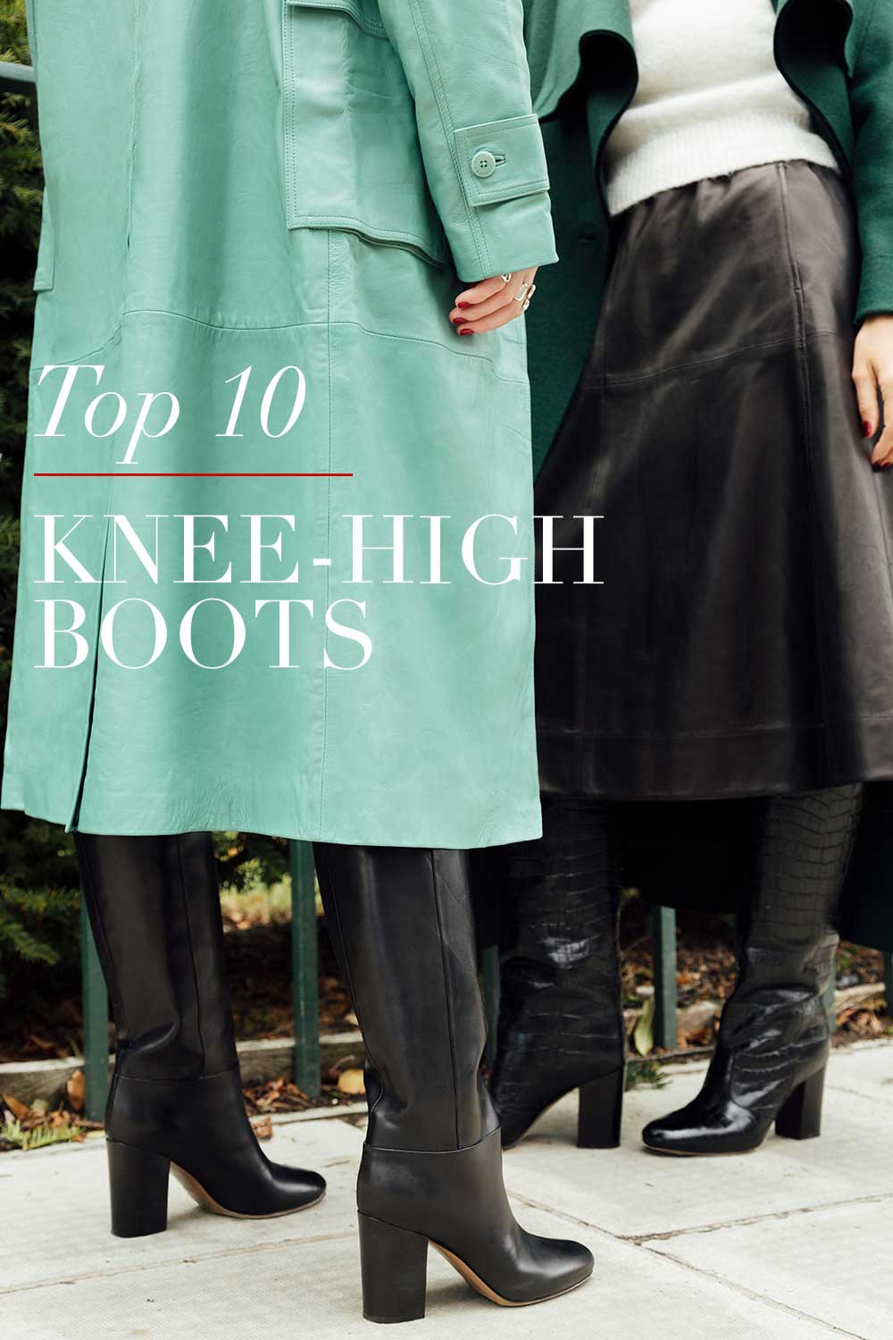 On trend: 5 of the best knee high boots