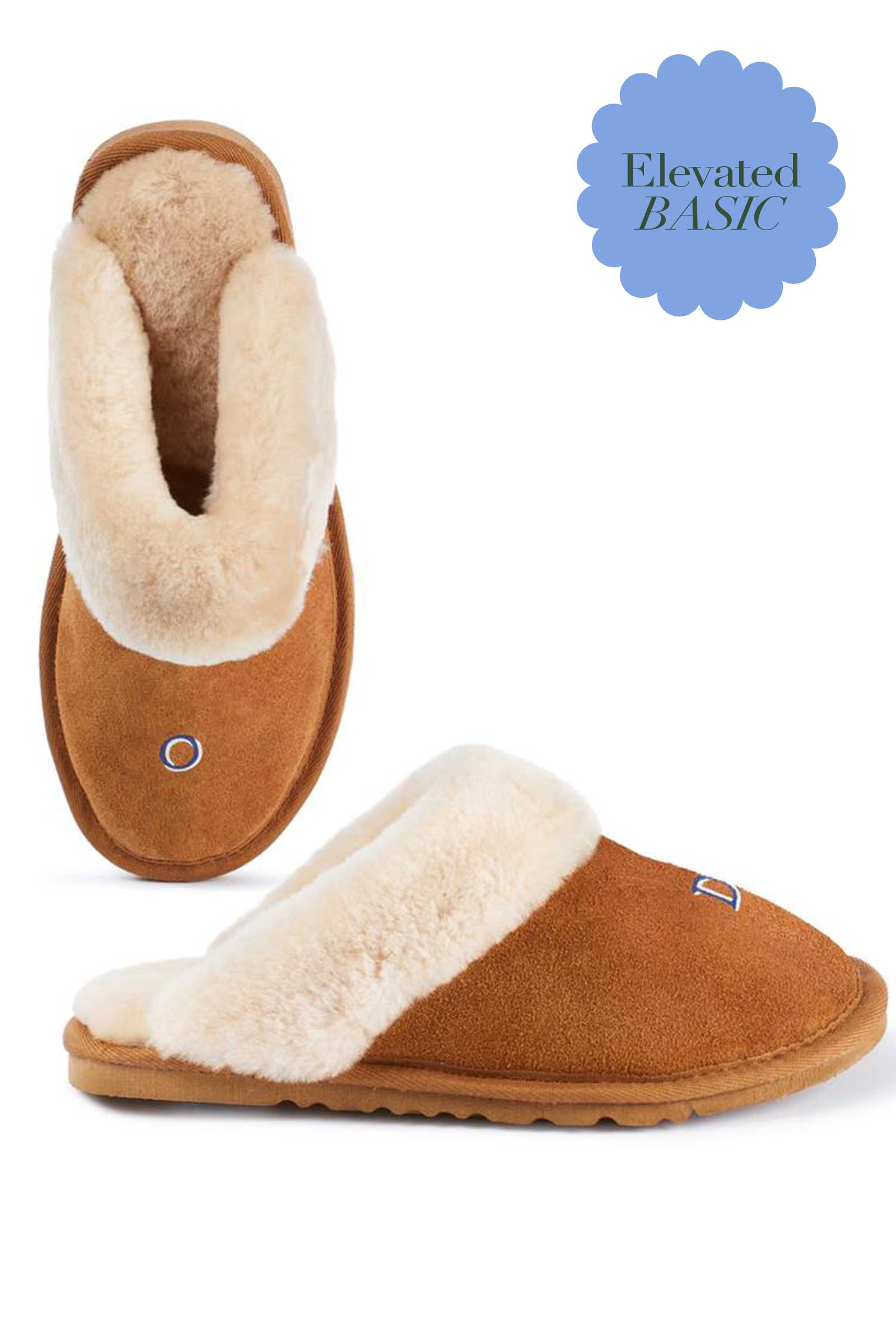 Monogram Women's Slippers
